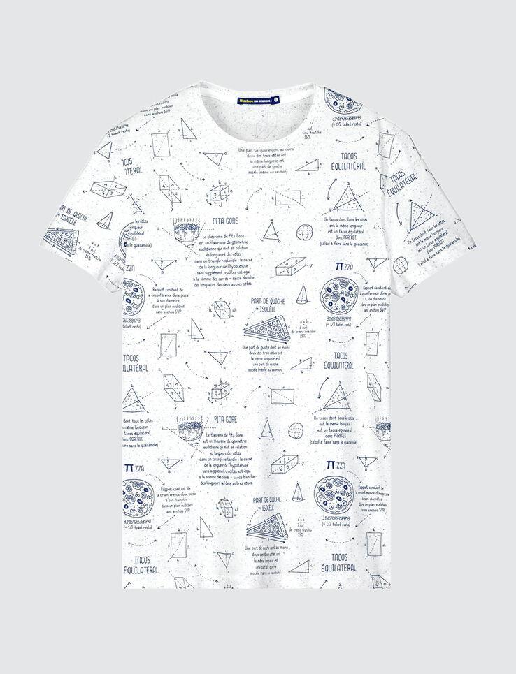 T-shirt imprimés dessins humour mathématiques