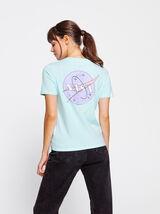 T-shirt licence NASA pastel