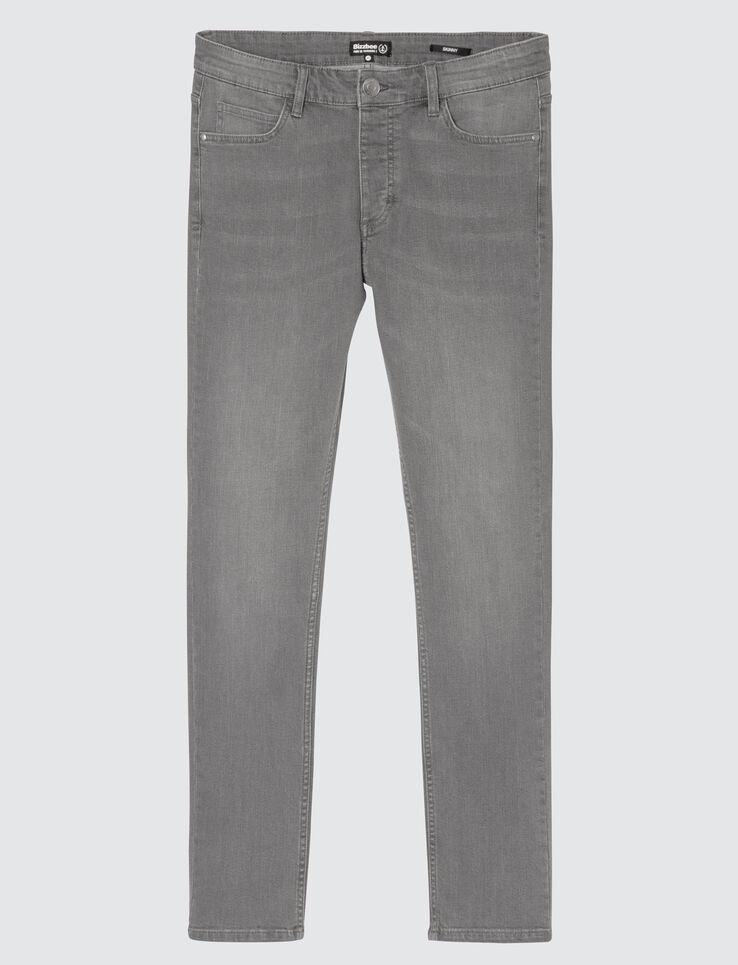 Jean skinny basique gris