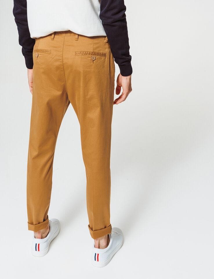 Pantalon chino raccourci