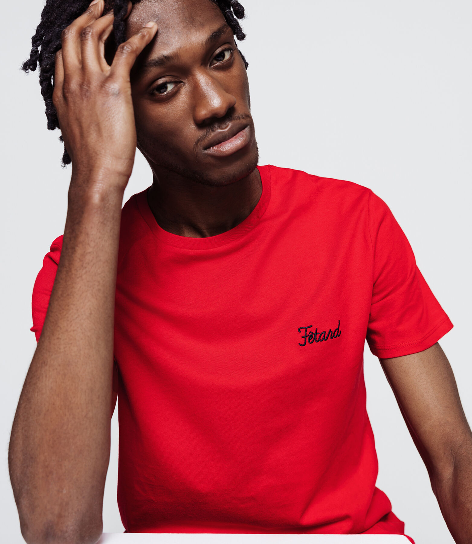 "T-shirt brodé ""Fétard"""