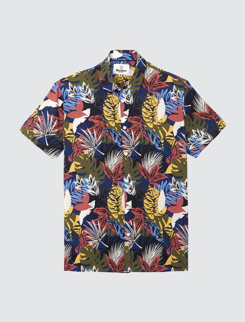 Chemise manches courtes Hawai homme