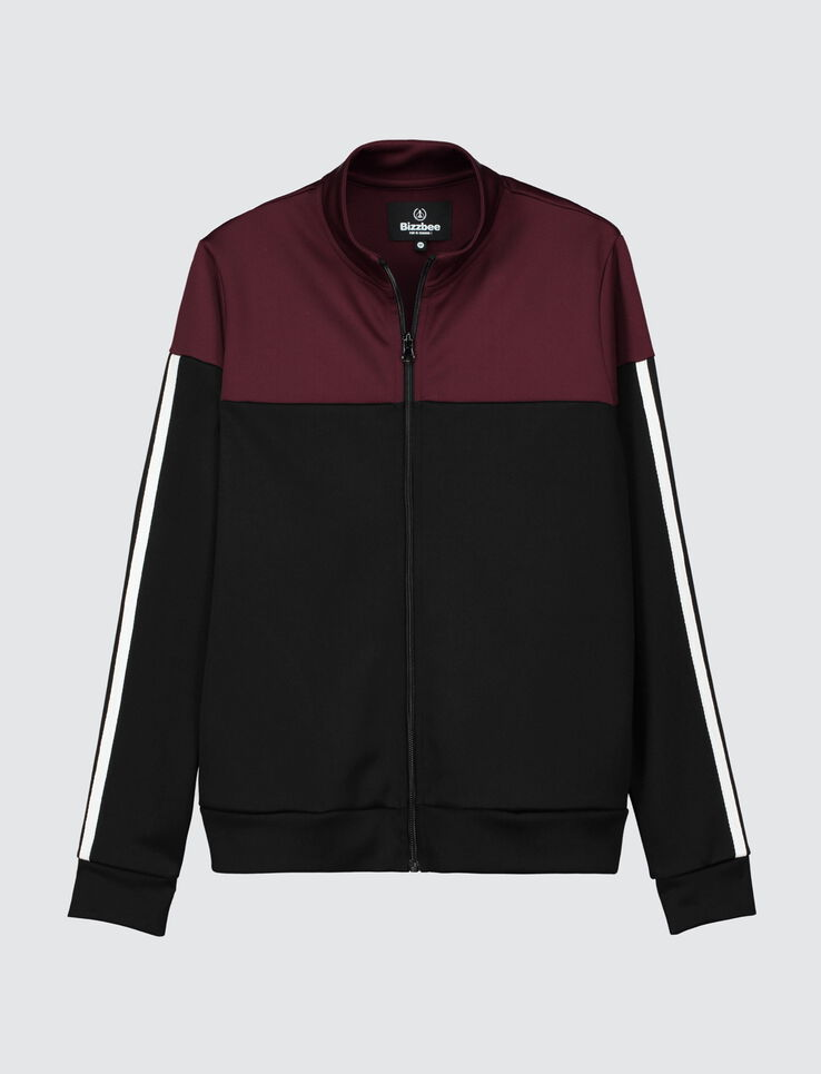 Veste zippé colorblock
