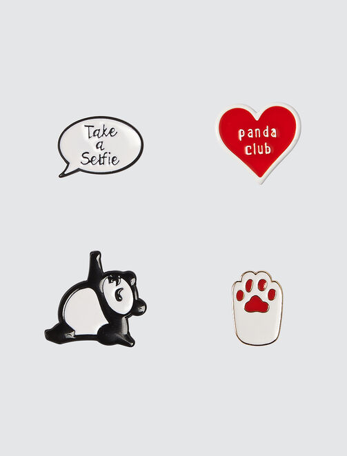 Set de Pins Panda femme