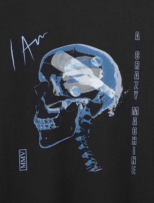 T-shirt imprimé rayon X