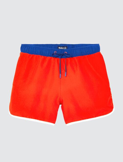 dd3e2a2fe5a0 Short de Bain Tricolore Rétro homme