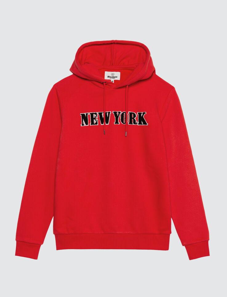 Sweat enfilé message New York