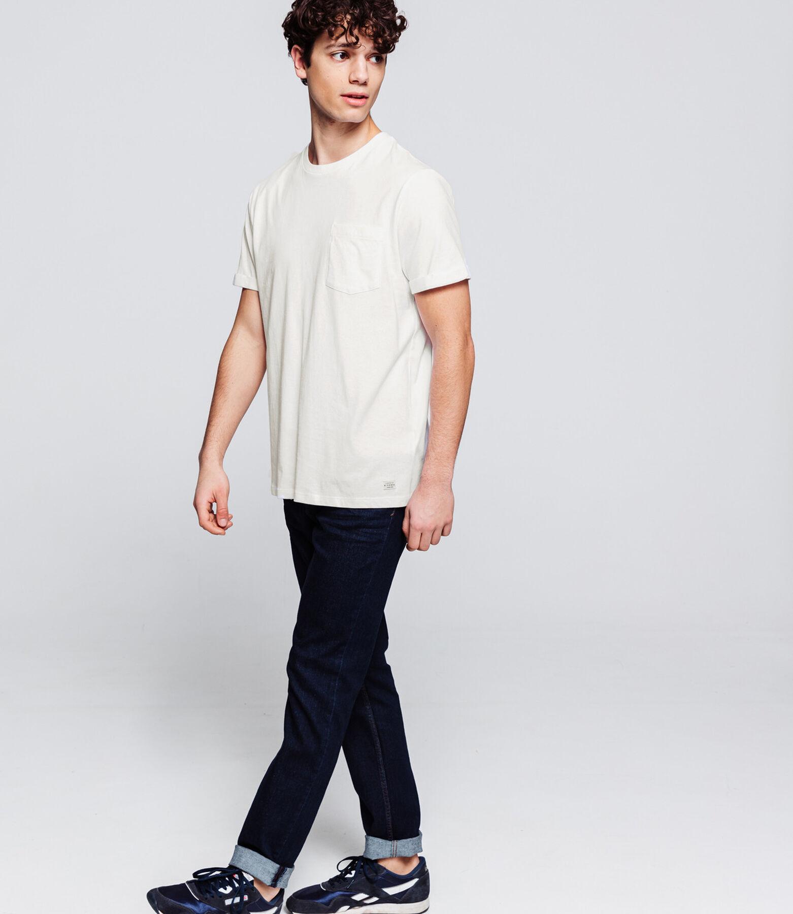 T-shirt basique poche coton issu de l'agriculture