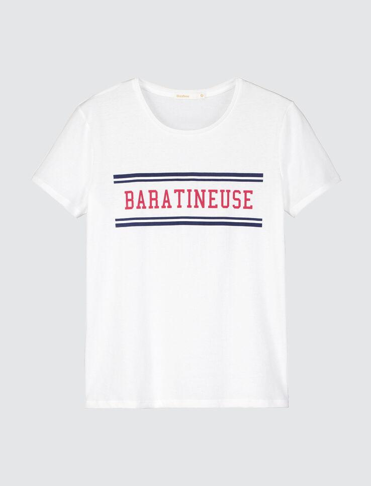"""T-shirt à message """"BARATINEUSE"""""""