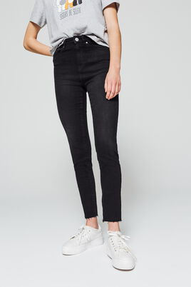Jean denim skinny cropped