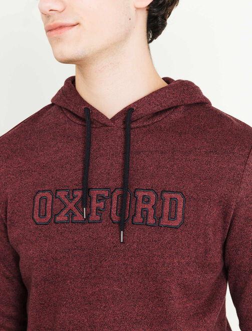 Sweat à capuche Oxford homme