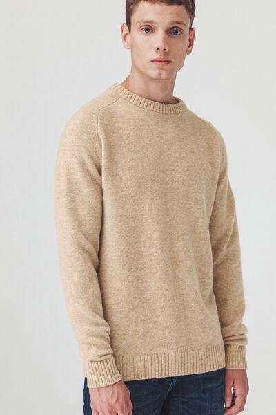 Pull mouliné en laine