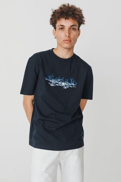 T-shirt collab BZB x EGON en coton BIO