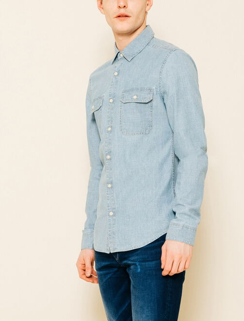 Chemise Chambray homme