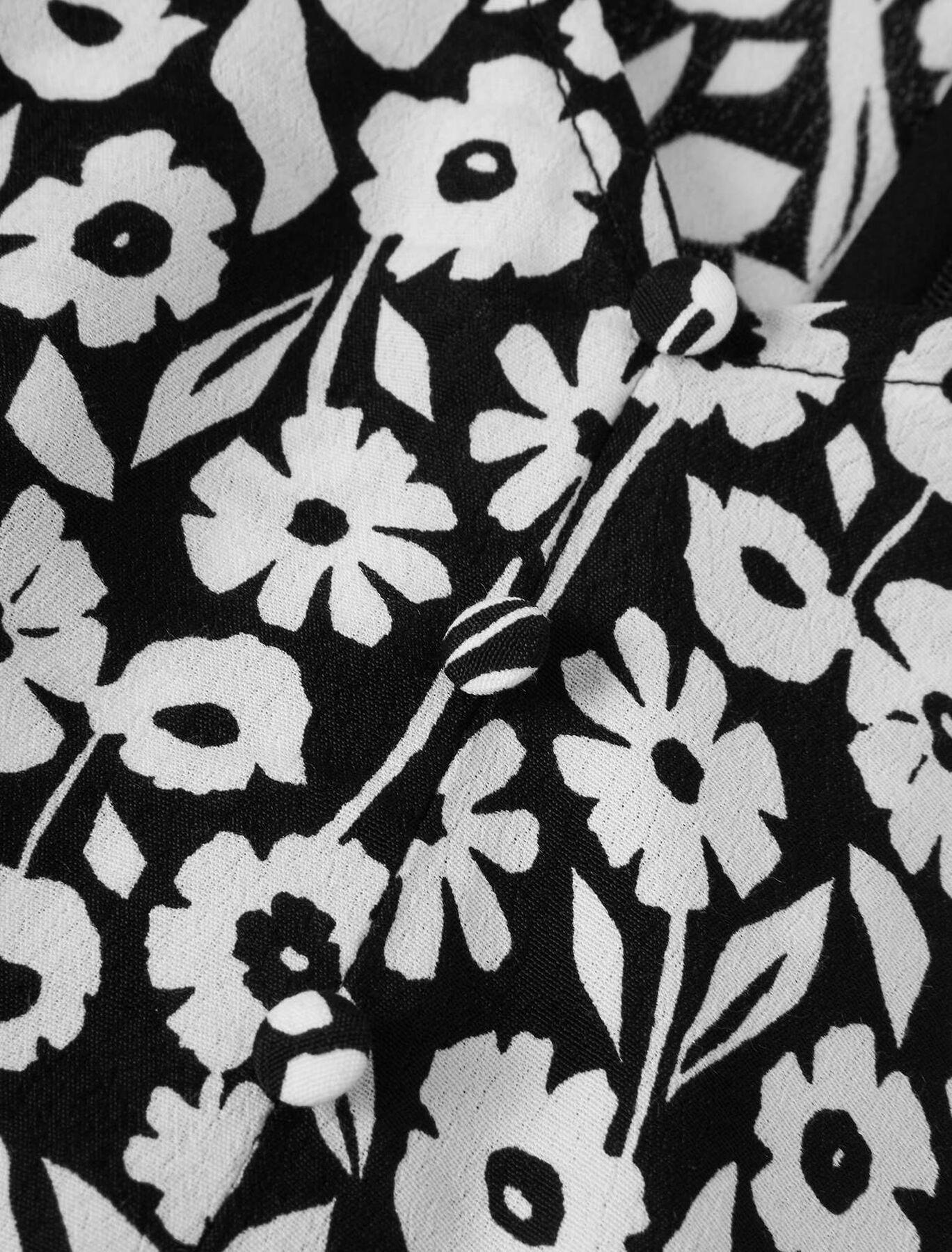 Combishort Imprimée Fleurie