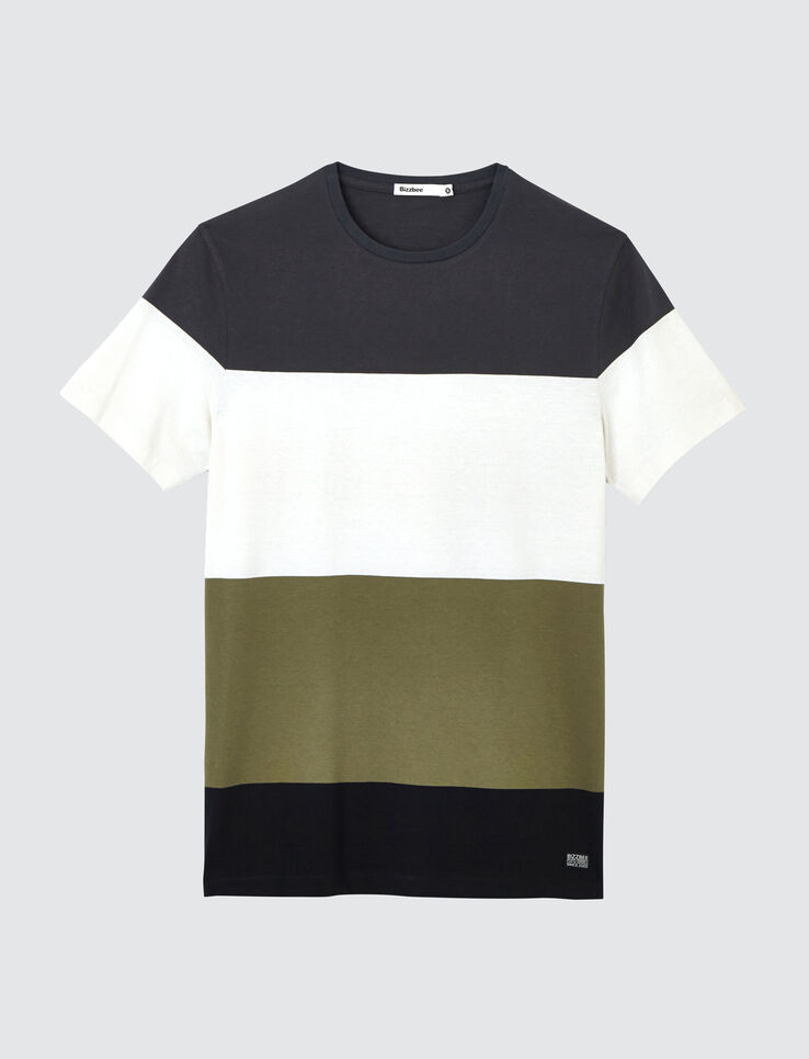 T-shirt rayures larges