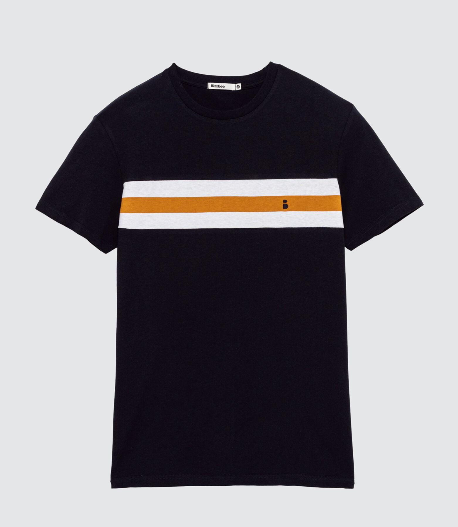 T-shirt avec broderie poitrine