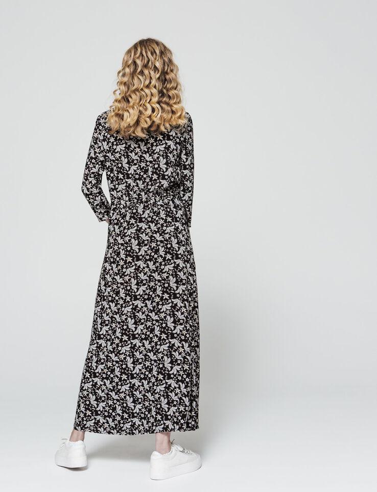 Robe longue cache cœur