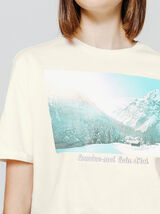 T-shirt photoprint paysage