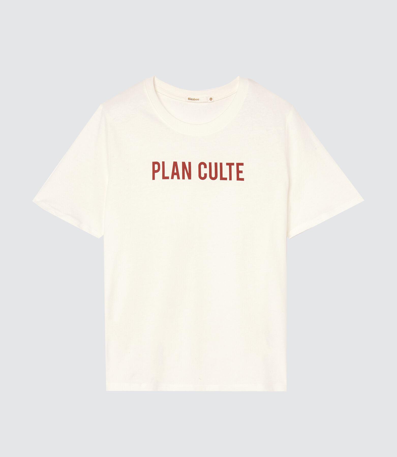 """T-shirt """"plan culte"""" en coton IAB"""