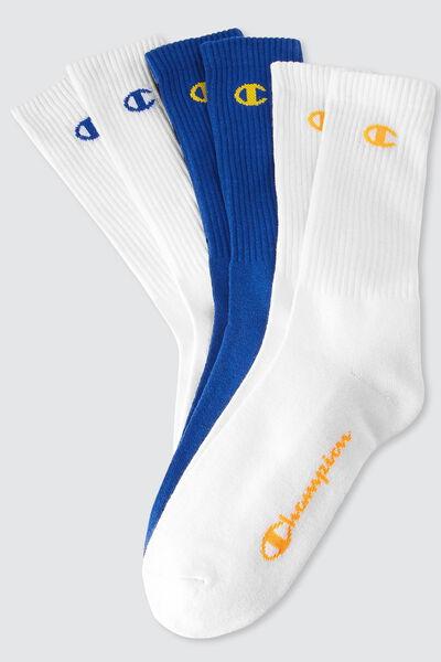 Lot de 3 paires de chaussettes sport CHAMPION
