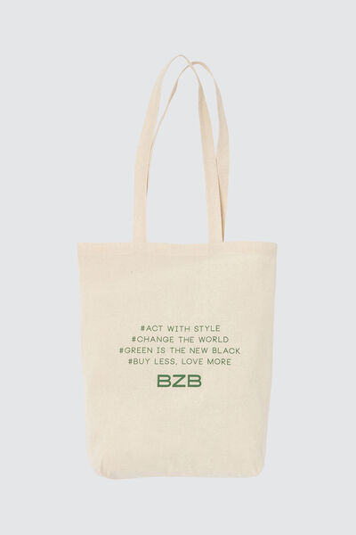 Tote bag #act for style moyen modèle