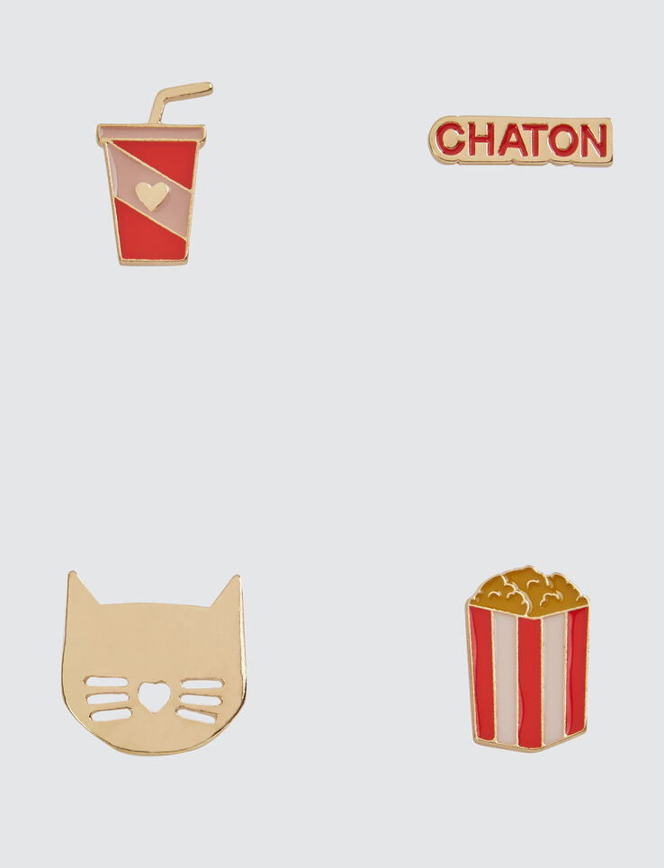 Set de Pins Chaton