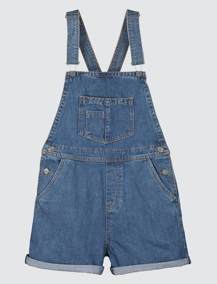 Salopette short denim