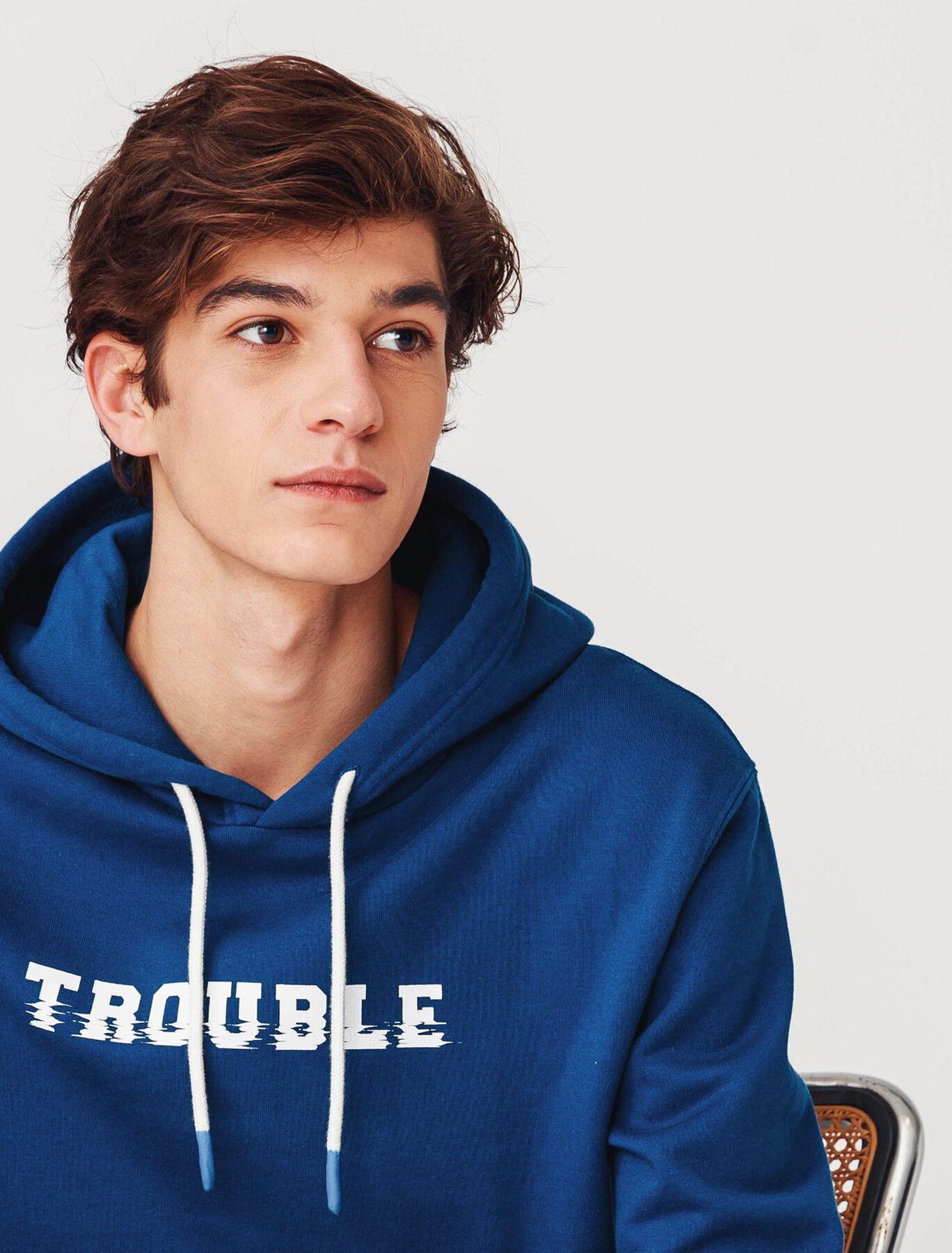 """Sweat à capuche """"Trouble"""""""
