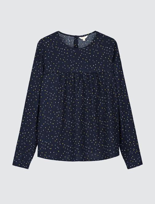 Chemise à motifs  femme