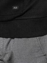 Sweat lourd oversized avec poche texturée