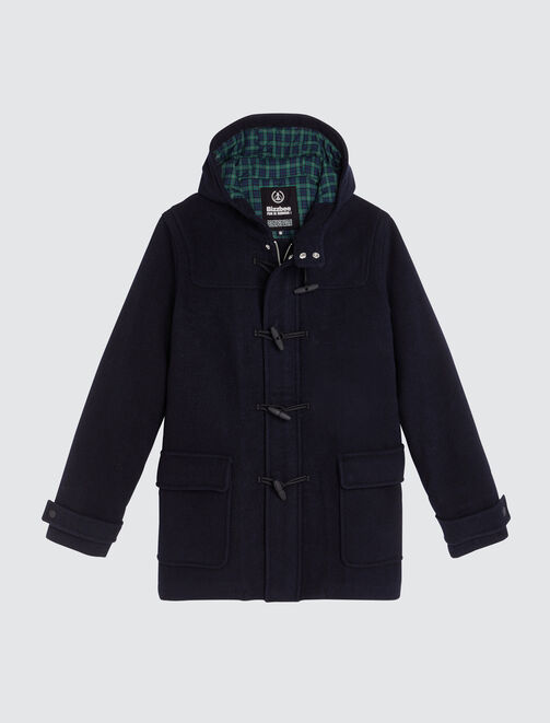 Duffle coat en lainage homme