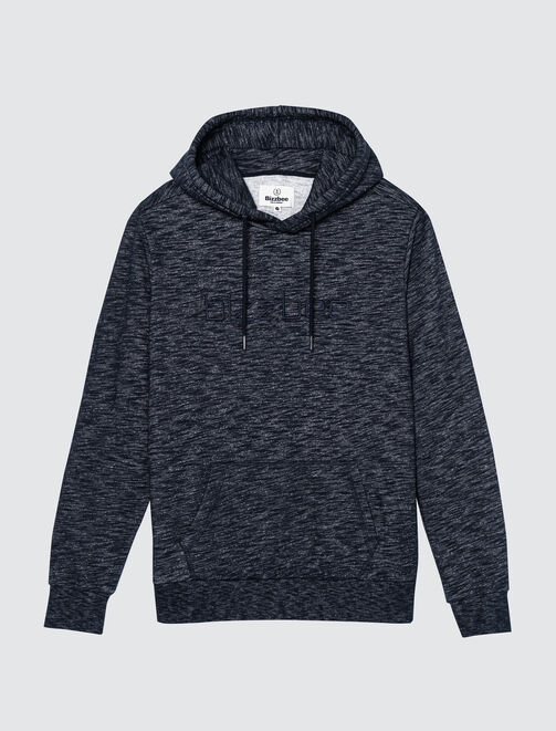 Sweat injecté brodé homme