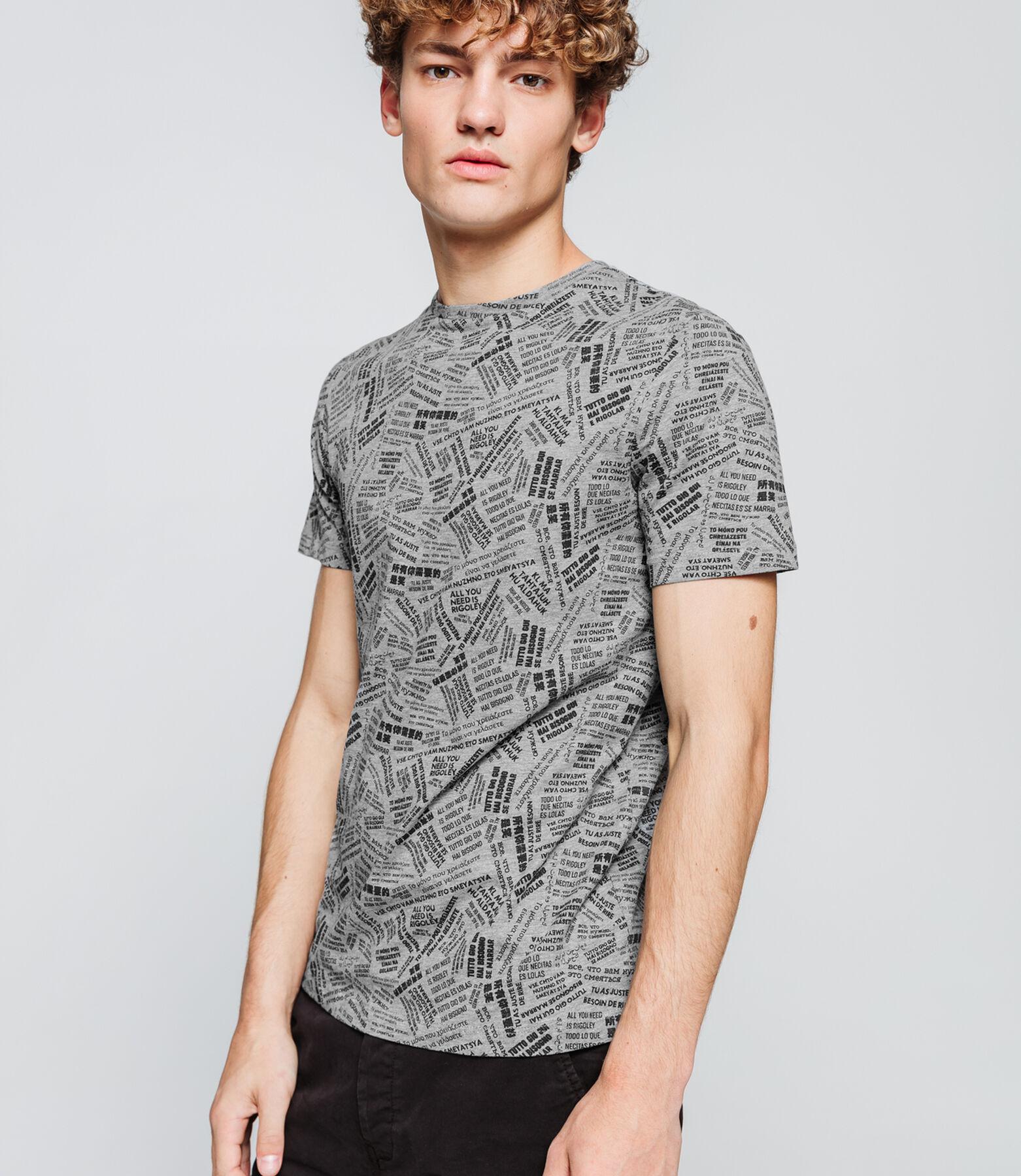 T-shirt allover print