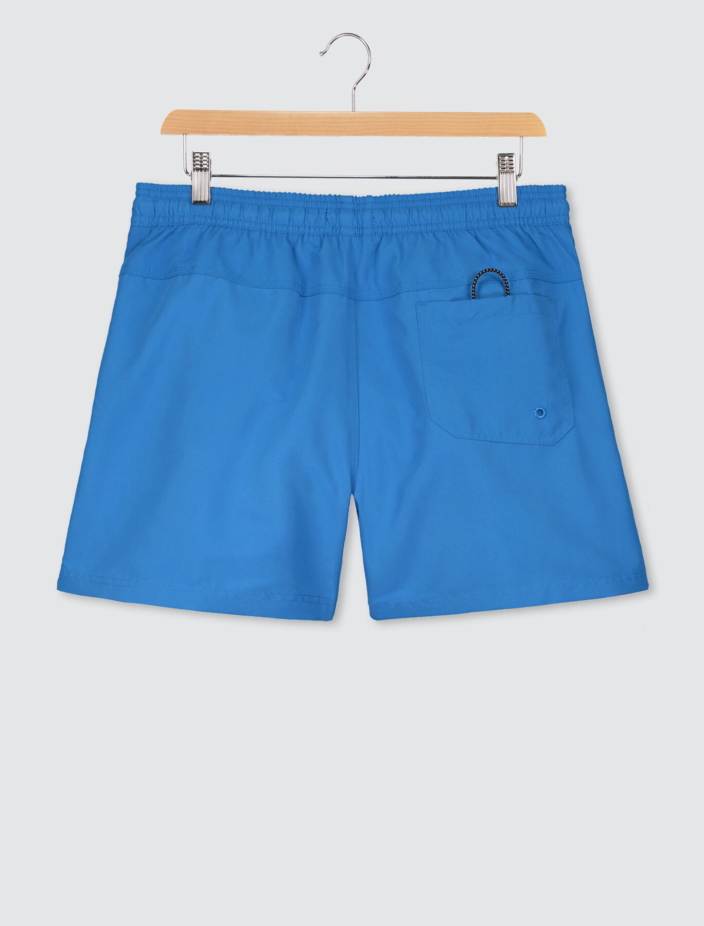 Short de bain mi-long uni premium