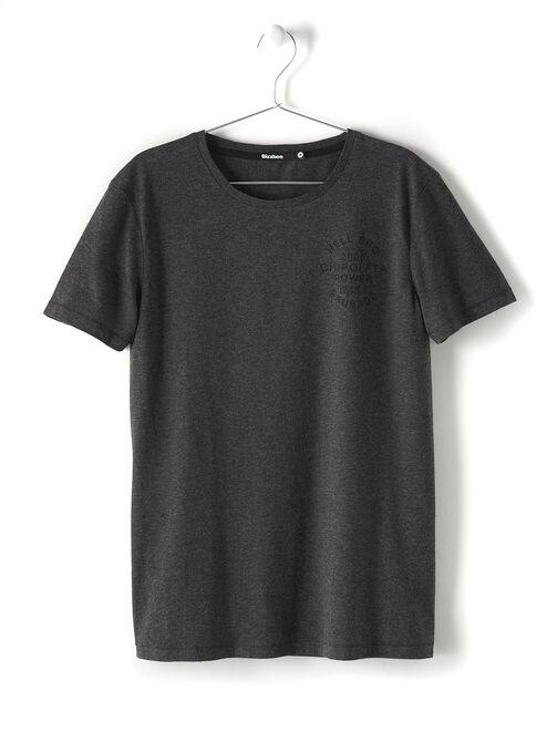Tee-shirt imprimé dos homme