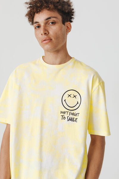 """T-shirt tie and dye """"Smiley"""""""