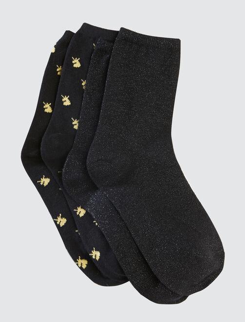 Lot de chaussettes femme