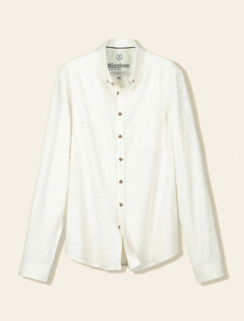 Chemise effet neps homme