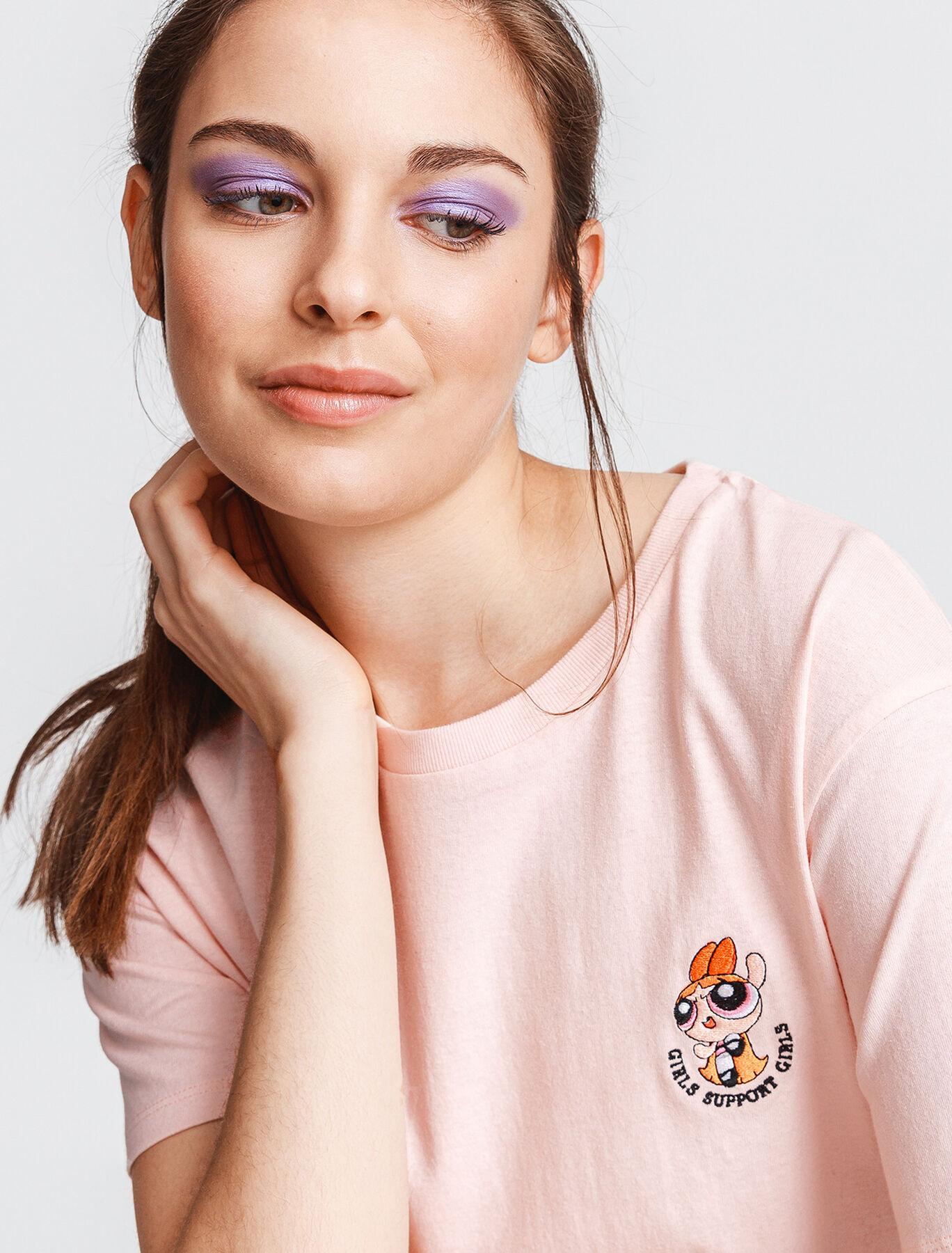 T-shirt licence Super Nana brodé poitrine