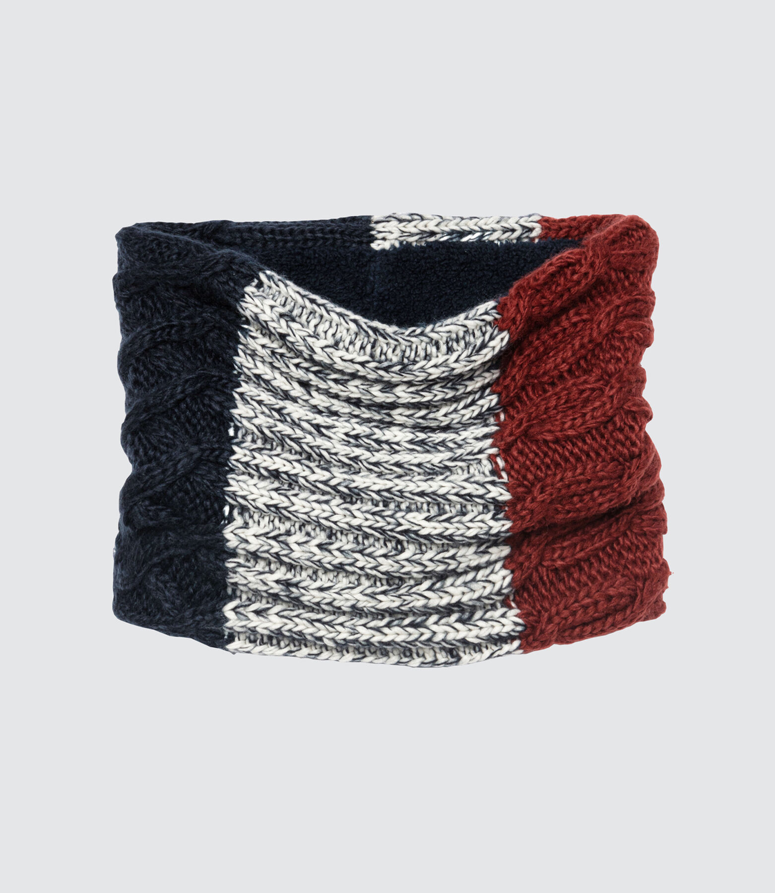 Snood Tricot Colorblock