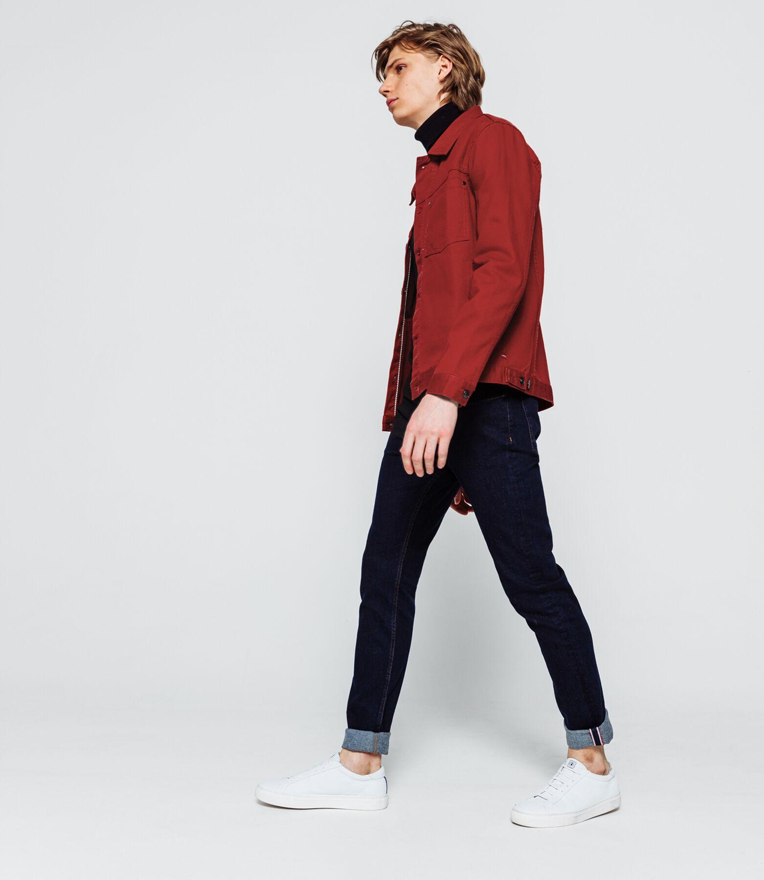 Veste en jeans couleur
