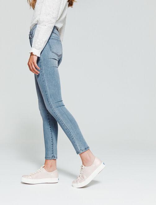Jean skinny 7/8 femme