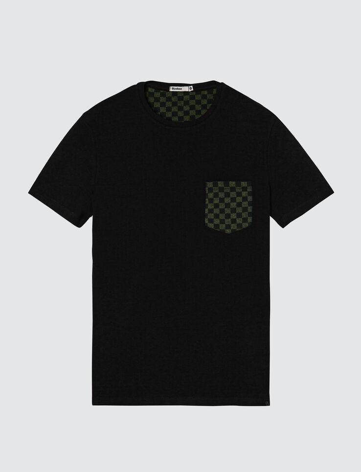 T-shirt poche imprimé all over