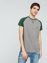 T-shirt raglan bicolore