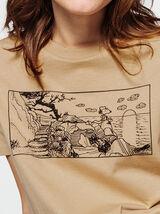 T-shirt licence Snoopy esprit BD
