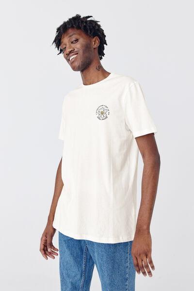T-shirt imprimé devant dos