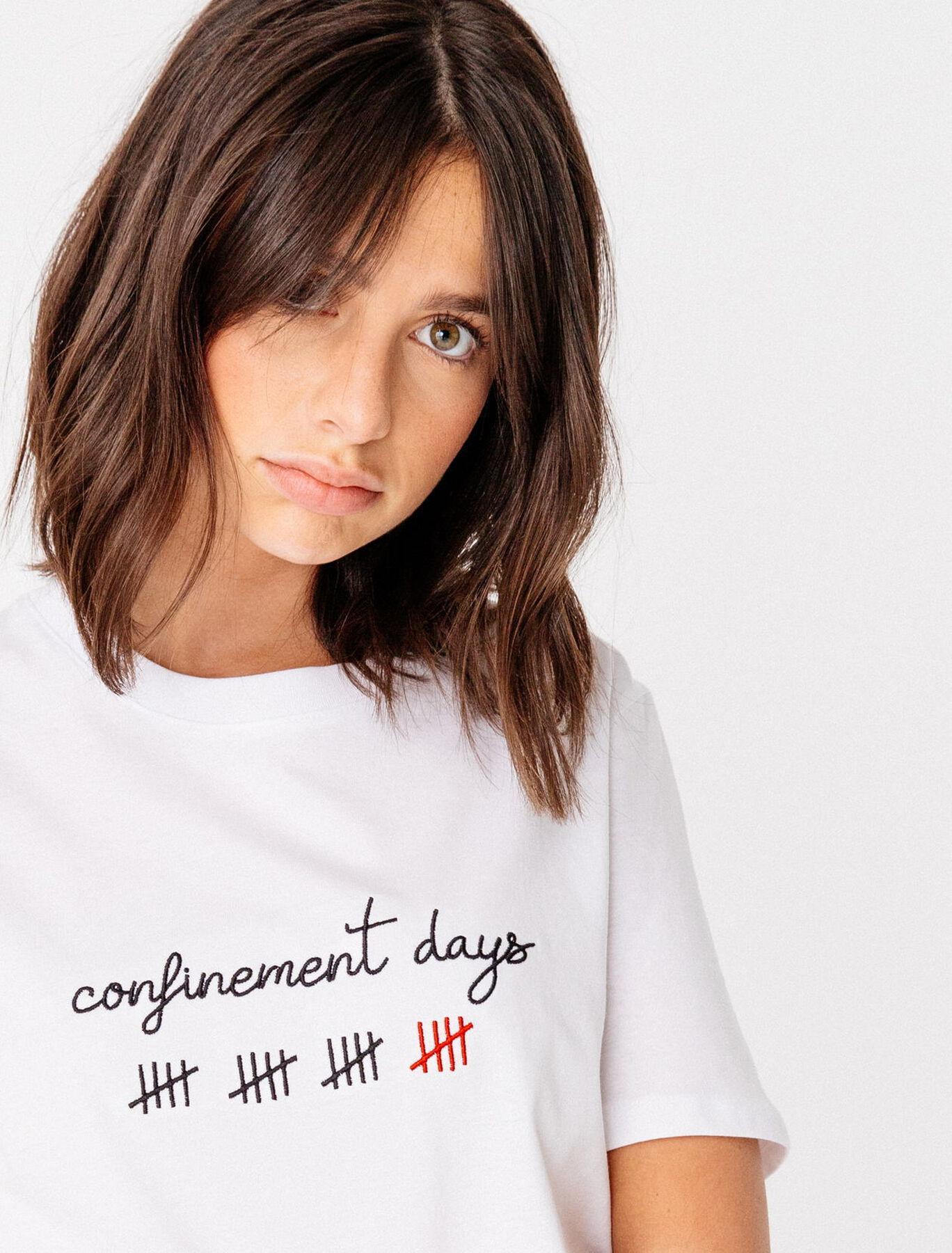 T-shirt confinement days bio