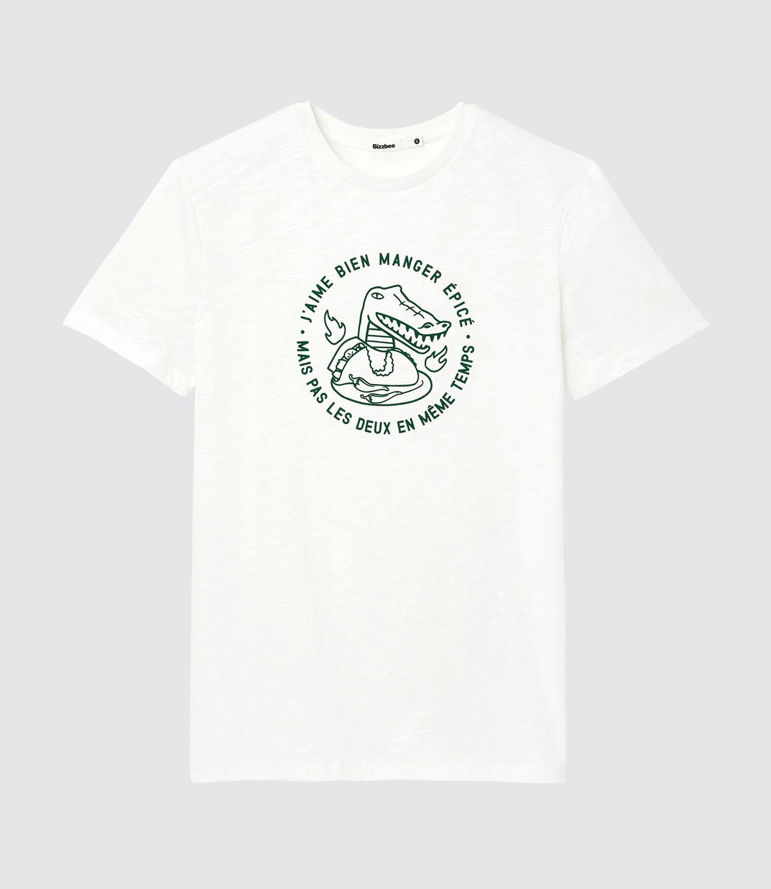 T-shirt avec print crocodile