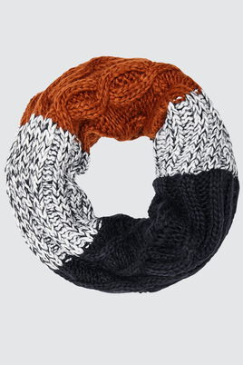 Snood Colorblock Torsades
